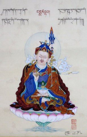 Mind Essence ~ Padmasambhava http://justdharma.com/s/7dtvr      Where the past has ceased and the future has not yet arisen,   In the unimpeded state of present wakefulness,   Rest in the manner of mind looking into mind.   No matter what thoughts may arise at this time,   They are all the display of the single mind essence.   As the nature of space is unchanging,   You will realize the all-pervasive mind essence to be changeless.   This is the Great Perfection, the ultimate of all vehicles…