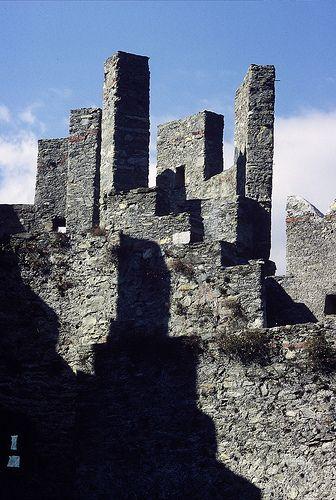 Castle Grande Bellinzona, Ticino.