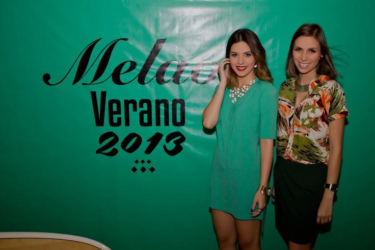 #MelaoVerano2013 Nuestra diseñadora creativa Mafe Vera e imagen de la nueva colección Sheryl Rubio
