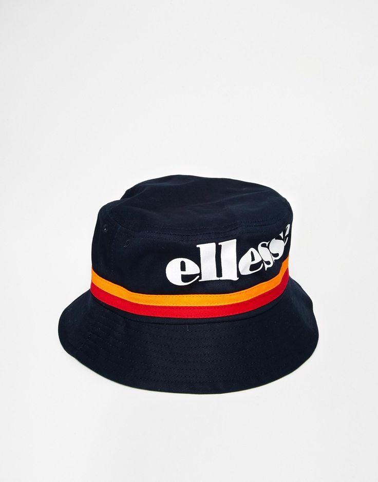 ELLESSE   Ellesse Bucket Hat in Canvas at ASOS