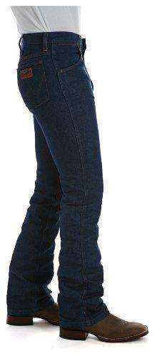 Wrangler Men's Western Boot Cut Slim Jean