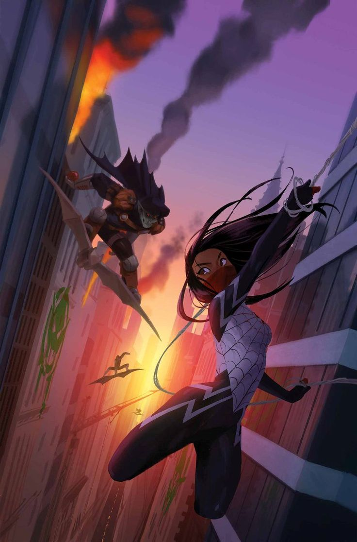 Silk #3 by Robbie Thompson, Art by Stacey Lee, Cover by Helen Chen, Variant Cover by TBA