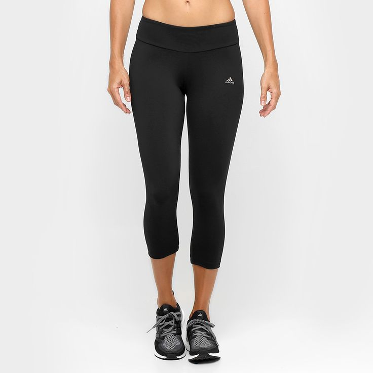 R$79,00 Para as mulheres que prezam por estilo e conforto, a Calça Corsário Adidas Ess Clima Preto é a escolha perfeita. Seu tecido elástico proporciona um ótimo ajuste ao corpo e um eficiente controle de umidade.   Netshoes