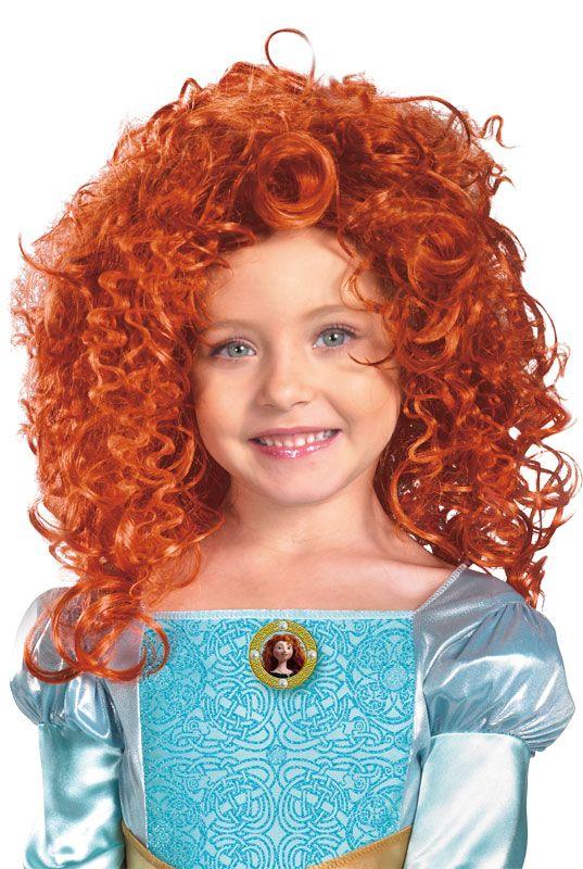 Disney Pixar Brave Merida Child Costume Wig