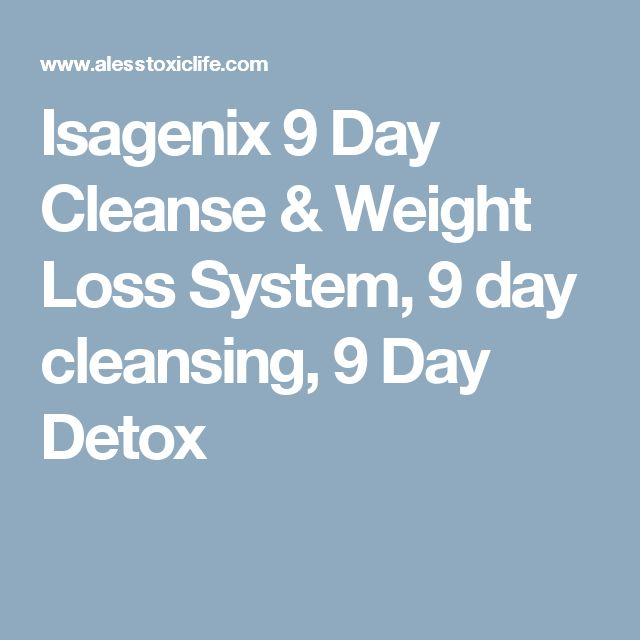 Isagenix 9 Day Cleanse & Weight Loss System, 9 day cleansing, 9 Day Detox