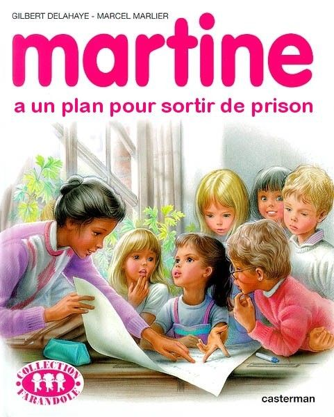 Martine Prison Break