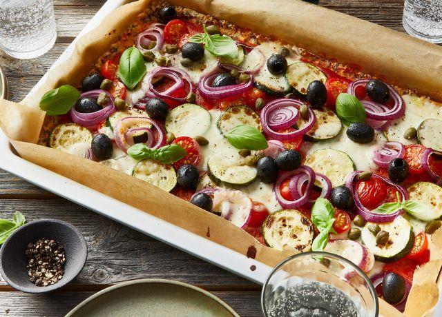 Blumenkohl Pizzateig