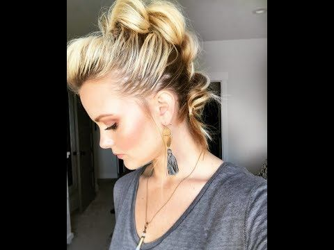 YouTube – Super cute and easy to do hairstyle thanks to this YouTube video and t…