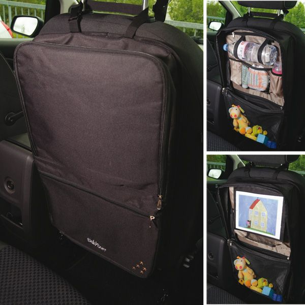 organiseur de voyage noir babysun en voiture avec b b. Black Bedroom Furniture Sets. Home Design Ideas