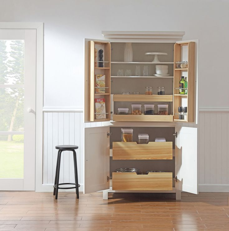 Best 25 Freestanding Pantry Cabinet Ideas On Pinterest Kitchen Pantry Cabinet Freestanding