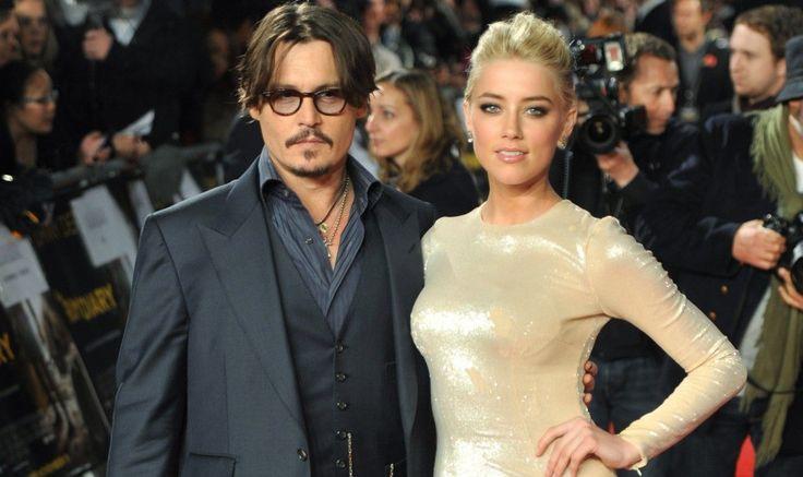Johnny Depp et Amber Head ont fêté leurs fiançailles à Los Angeles
