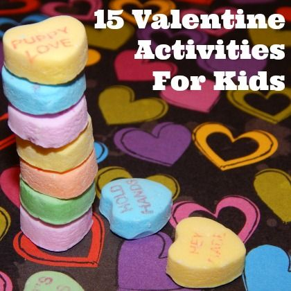 YES! These 15 Valentine Games and Activities for kids would be perfect for a class party!