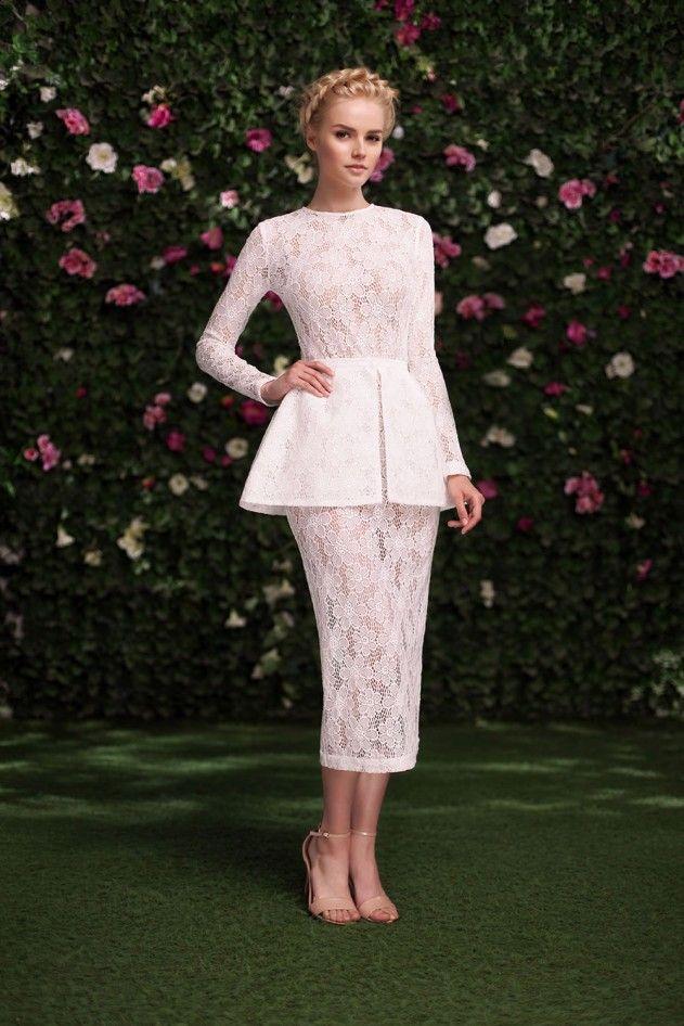 Платье «Эльза» белое кружево — 23 990 рублей