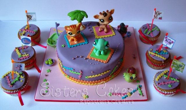 Little pet shops cake