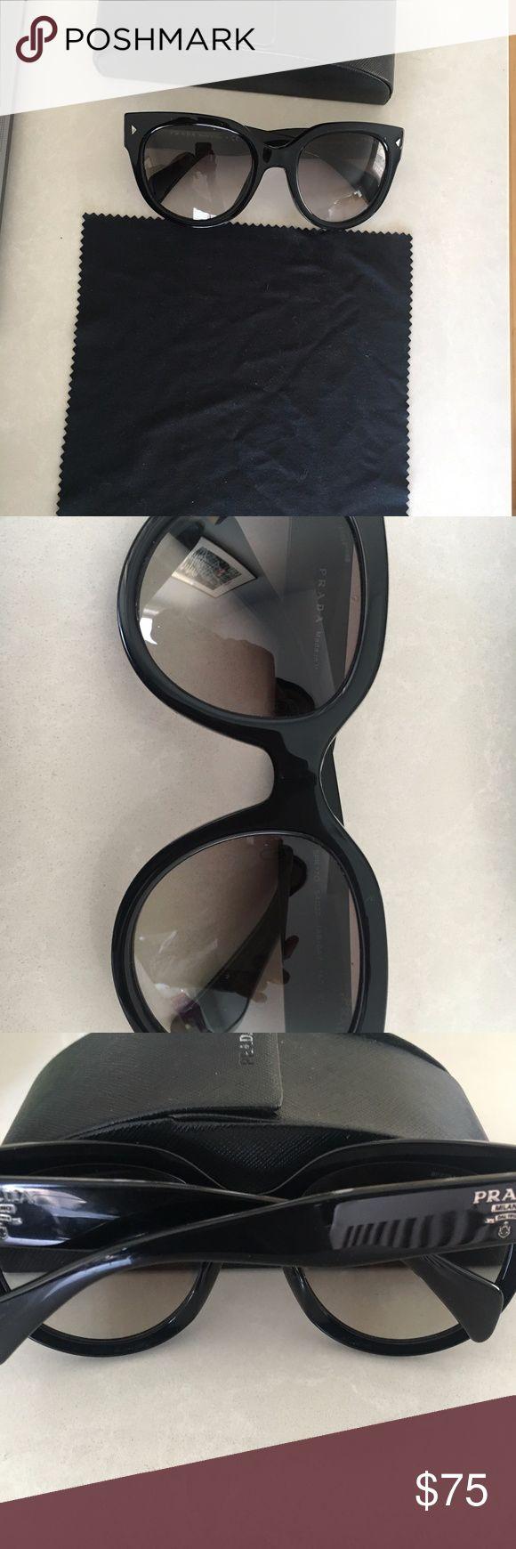 Prada PR 17OS Sunglasses -100% Authentic Prada product  -Brand: Prada  -Model: PR 17OS  -Material: Plastic  -Manufacturer: Prada  What's included:  -Prada Sunglasses  -Prada Case & Cloth Prada Accessories Sunglasses