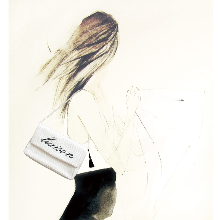 Fashion Illustration for Bag by anotherglow.