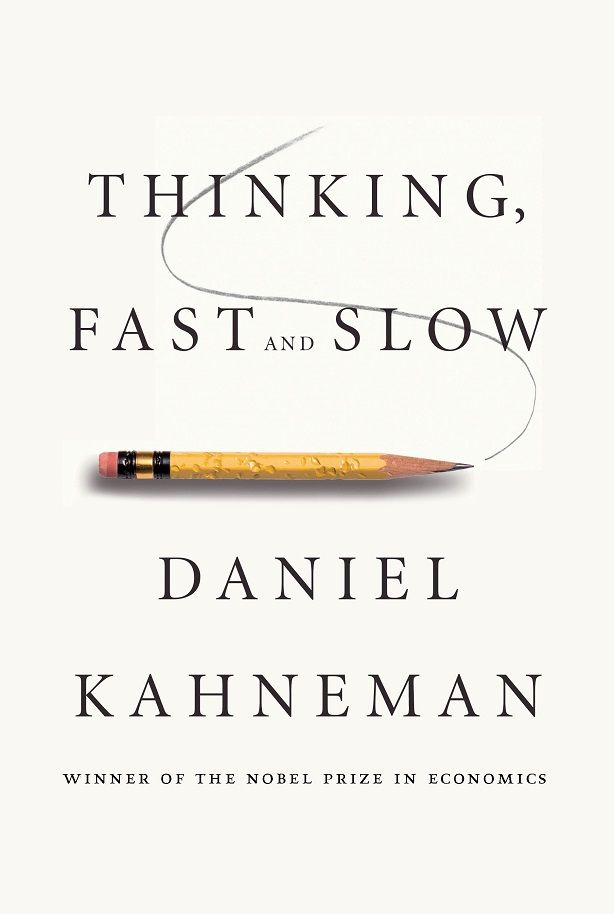 """""""Thinking, Fast and Slow"""" by Daniel Kahneman: This international bestseller and winning book, written by a renowned psychologist and Nobel Prize winner, describes the way the two main systems in our brain really work."""