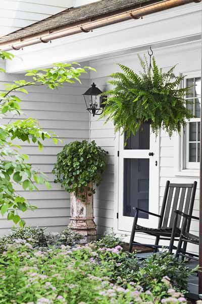 Back screen door..I want one of these. Photo: Laura Moss | thisoldhouse.com | from A Neocolonial Room-By-Room Revival