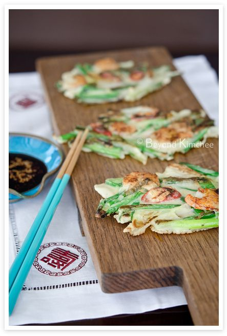 Check out this recipe for pajeon, or green onion pancakes. Koreans ...