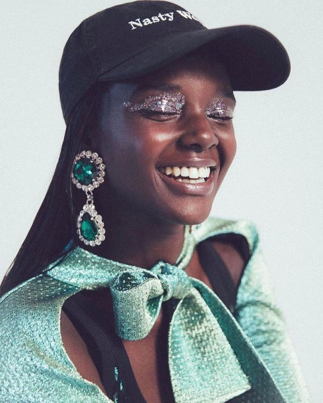 Duckie Thot for Teen Vogue, shot by Evaan Kheraj. Love her smile!