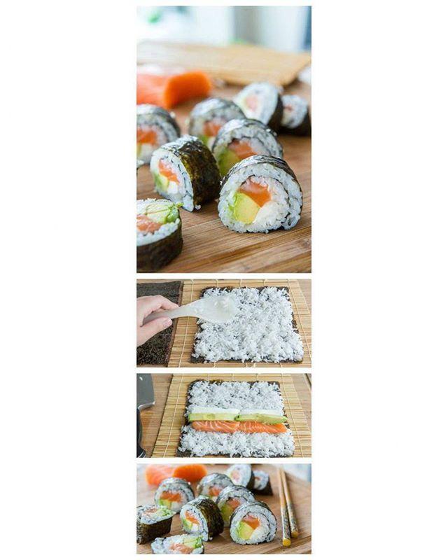 Ролл с лососем, авокадо и сливочным сыром 😃 #sushiwokigubkin #sushi #rolls #суши #роллы #gubkin #губкин #foodporn #tagsforlike #likeme #еда #instagood  Yummery - best recipes. Follow Us! #foodporn