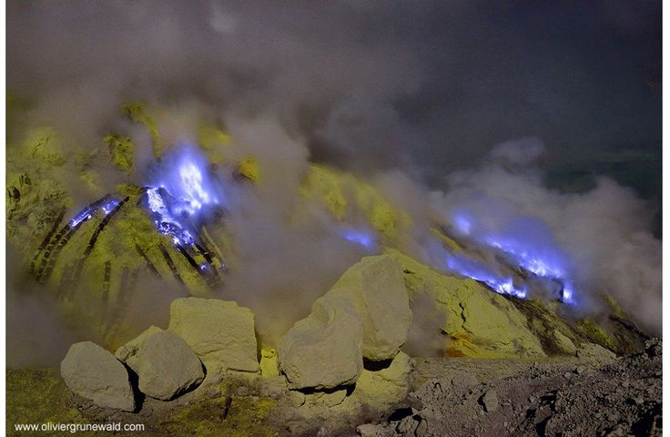 Why Does This Indonesian Volcano Burn Bright Blue? | Science | Smithsonian
