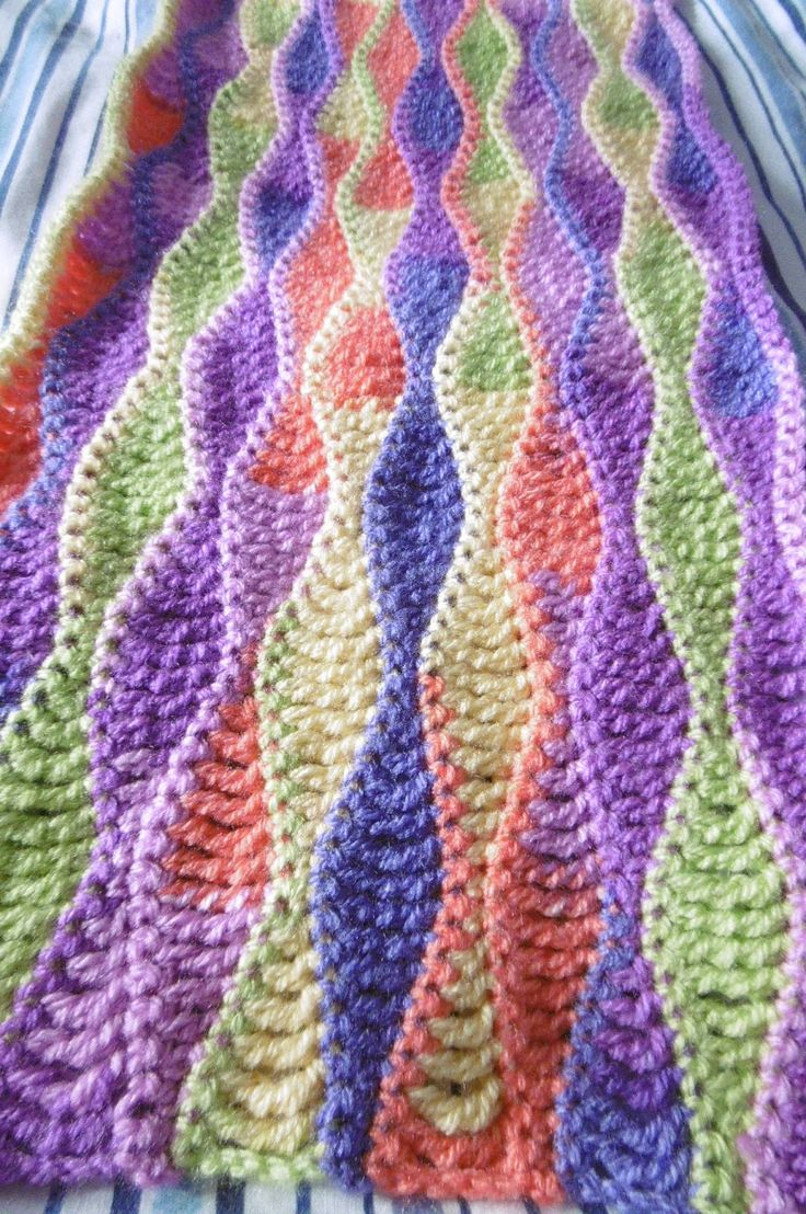 The 8th Gem: Search results for fruit salad crochet wave free pattern.