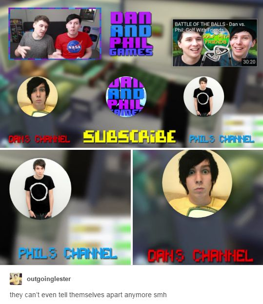 WAIT MAYBE THEY DID THIS SO THAT THEYD CLICK ON DANS CHANNEL BUT THEYD ACTUALLY SUBSCRIBE TO PHIL GOOD JOB GUYS