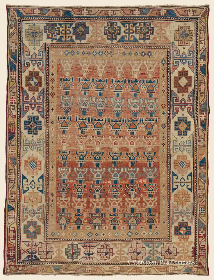 Claremont Rug Company Is Pleased To Present The Newest Addition Our Featured Arrivals A Earth Toned Antique Caucasian Karabagh Tribal
