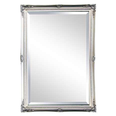 Swept Bevelled Mirror | Dunelm