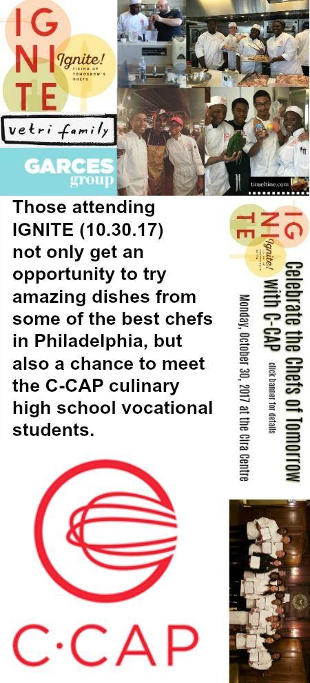 Celebrate the Chefs of Tomorrow in Philadelphia 10/30 Cira Centre @JGDomesticPHL 