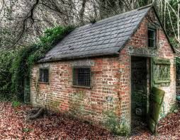 Image gallery outbuilding ideas for Brick garden shed designs