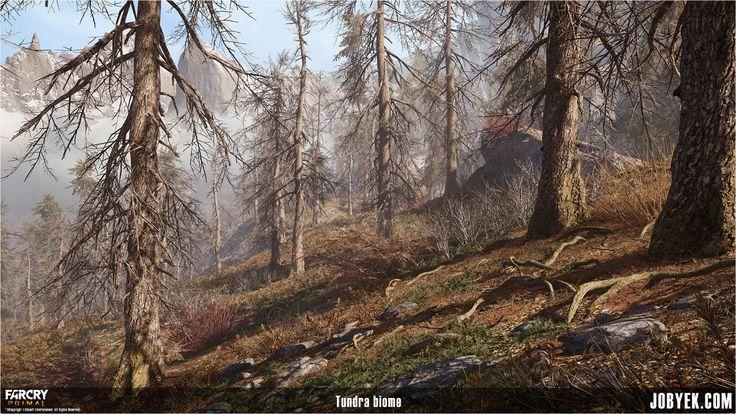 Tundra Biome, Jobye-Kyle Karmaker on ArtStation at https://www.artstation.com/artwork/6wqPO