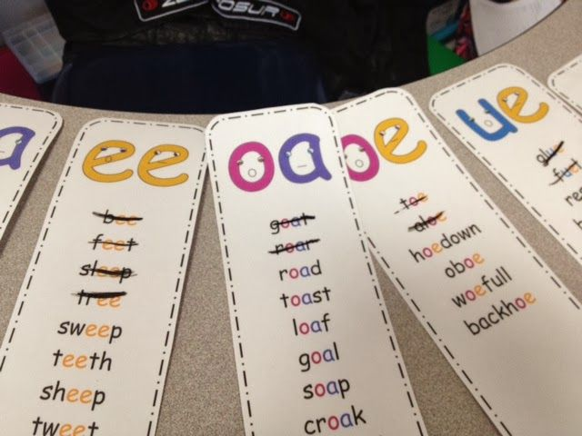 """My second graders' favorite activity is the """"Spin and Read.""""  They could have played it over and over!  They were so proud of themselves when they were able to decode a word they had some trouble with.  I loved seeing them become more confident with their decoding skills!  Here's a peek at what we played:"""