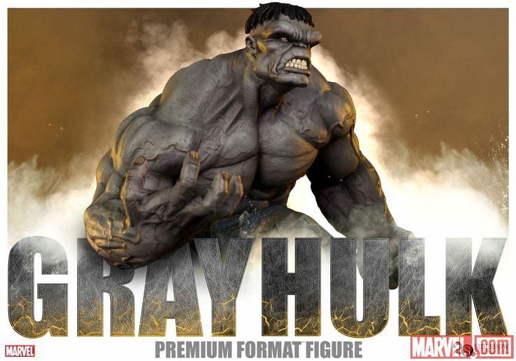 Gray #Hulk Figure from Sideshow Collectibles!