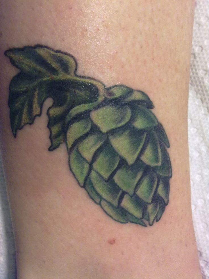 barley hops tattoo - Google Search