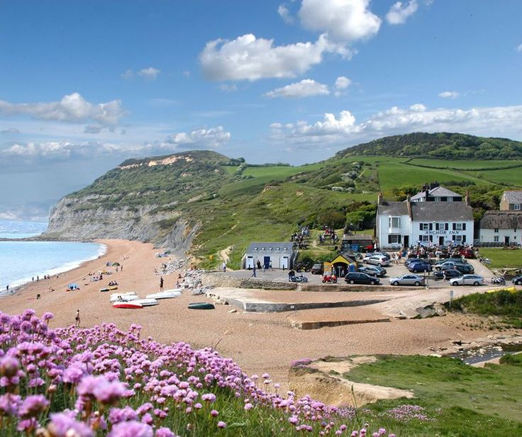 Seatown near Bridport. Dorset: