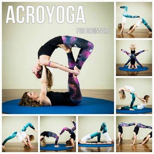30 Best Acro Yoga Sequences Images On Pinterest Partner