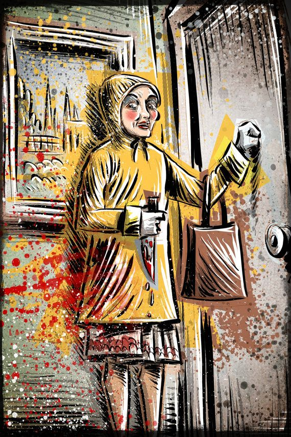 Alice Sweet Alice Art Print on Etsy!