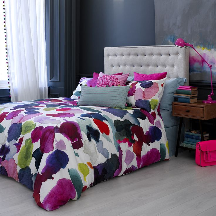Discover the Bluebellgray Abstract Duvet Cover  - Super King at Amara