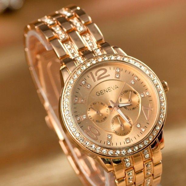 2015 Fashion Watch, Artificial diamond embedded