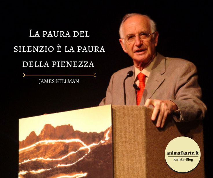James Hillman - Silenzio