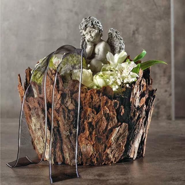 flower arrangement for the grave