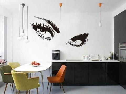 27 best unique kitchen, cafe wall decor images on pinterest | cafe