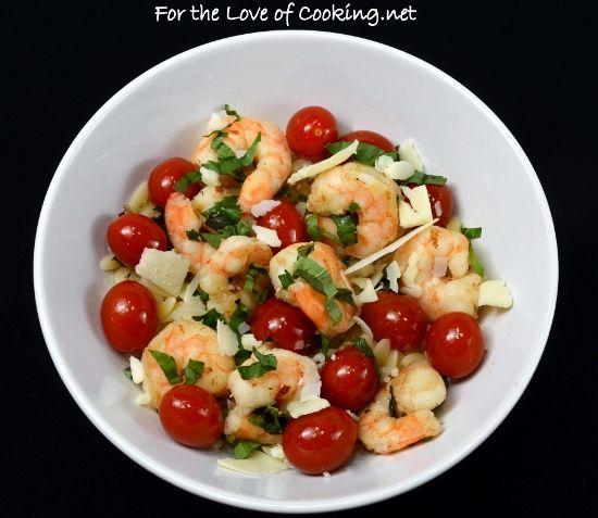 shrimp skewers parmesan crusted chicken rigatoni barbeque shrimp ...