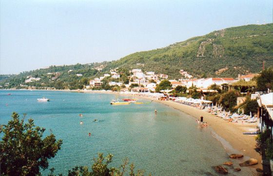 Megali Ammos Beach - just 5 to 10 minutes walk from Skiathos Town