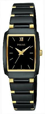 Pulsar Women's Black Dress Sport Watch PTC383