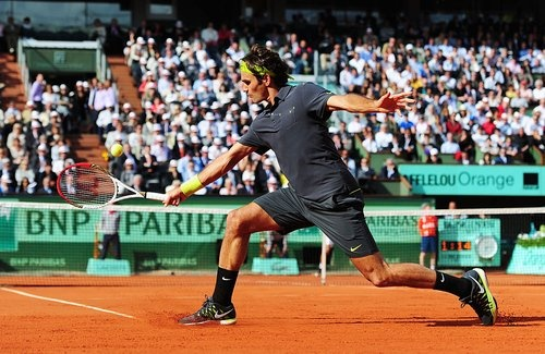 Roger Federer, Roland Garros.