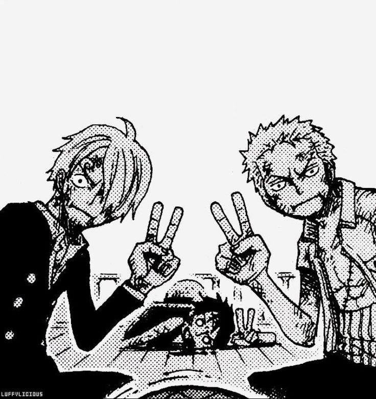 Monster Trio Peace - One Piece