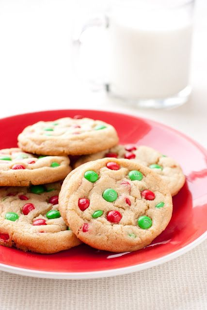 M&M cookies were always one my favorites as a child (and still are today). They are basically a chocolate chip cookie enhanced with color and that deli